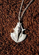 Unique Egyptian Pharoah Sterling Silver necklace.SALE Priced!!!