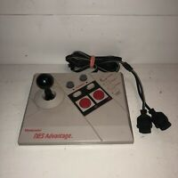 TESTED Original Nintendo NES ADVANTAGE 026 Joystick Arcade Turbo Controller 1987