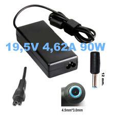 Alimentatore carica-batteria x NOTEBOOK HP 250 G3 spin.4.5x3.0 mm 90W + CAVO