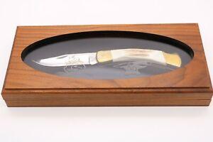 Buck 110 RMEF Rocky Mountain Elk Foundation 30 Years Stag Knife 068/525