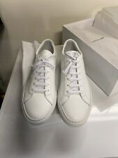 Common Projects Achilles Low White Leather Sneaker Size 42