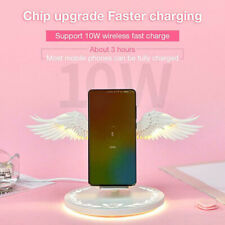 10W Angel Wings Fast Charging QI Wireless Charger For iPhone X 8 Samsung Huawei