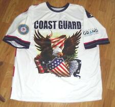Downtown Grand Hotel & Casino Las Vegas Polyester Coast Guard 2X Shirt New