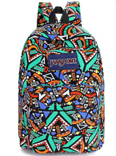 Geometric Patterned Jansport Bag