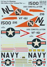 Print Scale 48-148 Decal for F-4 Phantom MIG Killers Vietnam War Part-2 1:48