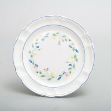 Set of 6 Vtg Hearthside Floral Expressions Stoneware China Dinner Plates 10.5""