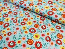 Handarbeitsstoffe aus Baumwolle mit Blumenmuster für Alltagskleidung-Bekleidung