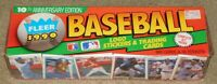 1990 FLEER BASEBALL FACTORY SEALED SET - 660 Cards & 45 Stickers