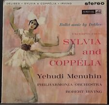 HMV ASD 439 1ST ED GC DELIBES SYLVIA & COPPELIA MENUHIN IRVING ENGLISH 1ST PRESS