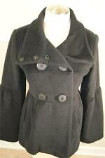 A.B.S COLLECTION ALLEN SCHWARTZ DOUBLE  BREASTED WOOL RABBIT HAIR  JACKET SIZE 6