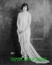 "THEDA BARA 8X10 Lab Photo 1910s Elegant Portrait, Photographer, ""SARONY"""