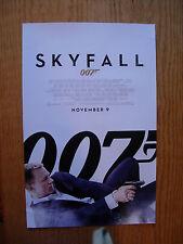 SKYFALL, James Bond 007, Daniel Craig SCARCE 11x17 MINI POSTER