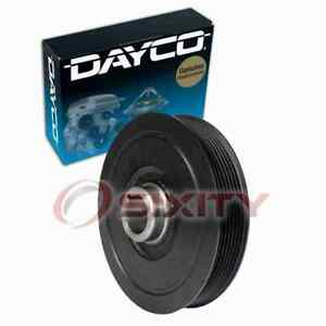 Dayco Engine Harmonic Balancer for 2002-2011 Honda Civic 2.0L L4 Cylinder lp
