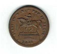 Copper Fuld 177/271a R4 Civil War Patriotic token double struck die 177 variety