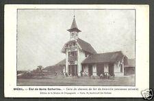 Joinville Railway Station Estacao Santa Catarina Mission Brazil ca 1906