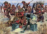 Italeri 1:72 - 6056, WWII Britische Infanterie, Modellbausatz unbemalt