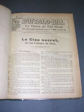 Buffalo Bill Le héros du far-west 1927 Fascicules 101 a 125 relié en un volume