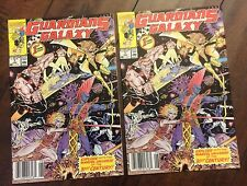 Guardians of the Galaxy #1 Newsstand Variant X2! Fine + & Very Fine Minus VF-