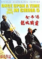 Once Upon A Time In China 5---- Hong Kong RARE Kung Fu Martial Arts Action movie