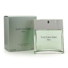 Truth By Calvin Klein 3.3 / 3.4 Oz EDT Spray New In Box Sealed Cologne For Men