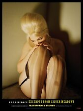 """TODD HIDO 'Blonde Woman' Silver Meadows 2013 Exhibition Poster 16"""" x 12"""" **NEW**"""