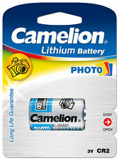 Camelion CR2 Foto Litio Energía Batería 3V Crcr 2-2a dl2a Litio Photo 3 Voltios