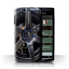 Étuis, housses et coques noir Sony Xperia Arc S pour téléphone mobile et assistant personnel (PDA) Sony