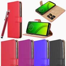 For Motorola Moto G7 Plus Power Phone case Luxury Leather Flip Wallet Card Cover