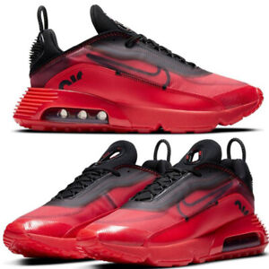 Nike Air Max 2090 University Red Black DC1851 600 MEN'S CASUAL RUNNING SHOES