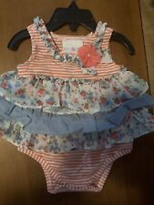 New Iris & Ivy Beatiful Baby Girl Outfeet Size 3-6 Mo
