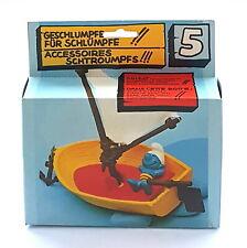SET SCHTROUMPFS SMURF LE BATEAU 40070 SCHLEICH 13 cm + BOITE