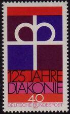W Germany 1974 Chiesa protestante SG 1706 Gomma integra, non linguellato