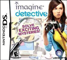 Imagine: Detective (Nintendo DS, 2009) BRAND NEW
