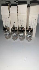 TESLA E88CC 4pcs,New Tube,Silver Pin, NOS,in original box