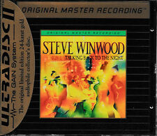 Steve Winwood-Talking back to the night/MFSL/udcd 674/ORO CD/NEW & SEALED!
