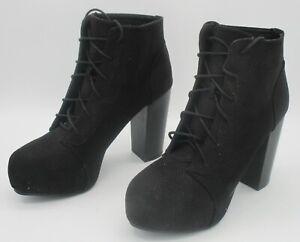 DIVIDED Damen Stiefel Schuhe-Schwarz- Gr.40  Nr.T-01193