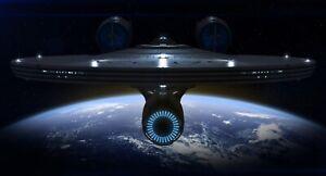 Star Trek ' U.S.S. Enterprise' Canvas Print Wall Art - 60cm x 30cm