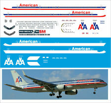 1/144 PAS-DECALS Zvezda Revell Decal For Boeing 757-200 American Airlines OLD