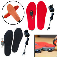 Warm Electric Heated Insoles soles For Women Men Shoes boot Winter Thick insole