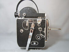 COLLECTOR'S BOLEX 16MM MOVIE CAMERA BODY. EARLY MODEL! SWISS C-MOUNT TURRET CAPS