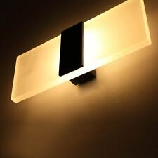 Modern Acrylic LED Wall Sconces Bedroom Bedside Lamp Bed Light Wall Fitting Lamp