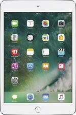 Apple iPad Mini 4 128GB Wi-Fi 7.9-inch Brand New Tablet MK9P2LL/A, WHT/Silver