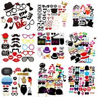 Party Props Selfie Photo Booth Moustache Birthday Hen Engagement Wedding Funny