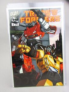 Transformers Generation 1 - Issue #4A - DW Dreamwave Comics Book 2002 VF