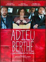 Plakat Abschied Berthe L'Junggesellenabschied Sogar Valerie Lemercier 120x160cm