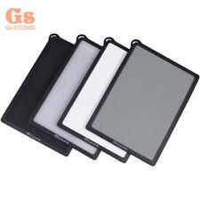 4in1 Digital Grey Card White Black 18% Gray Color White Balance Strap 16x11cm