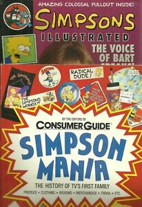Lot of 2 Book / Magazine - THE SIMPSONS - Illustrated - Mania - Consumer Guide