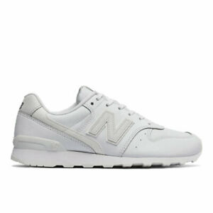 New Balance Women WL696SRW White Leather Classics