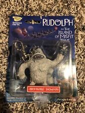 Abominable Snowman Keychain Mib Memory Lane Rudolph & Misfit Toys Collection