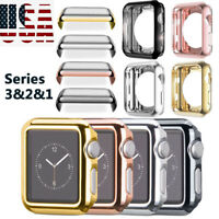 38/42MM For Apple Watch Series 1/2/3 Full Body Cover Snap On Case Protector US
